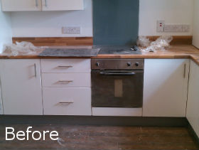 Before Builders Cleaning